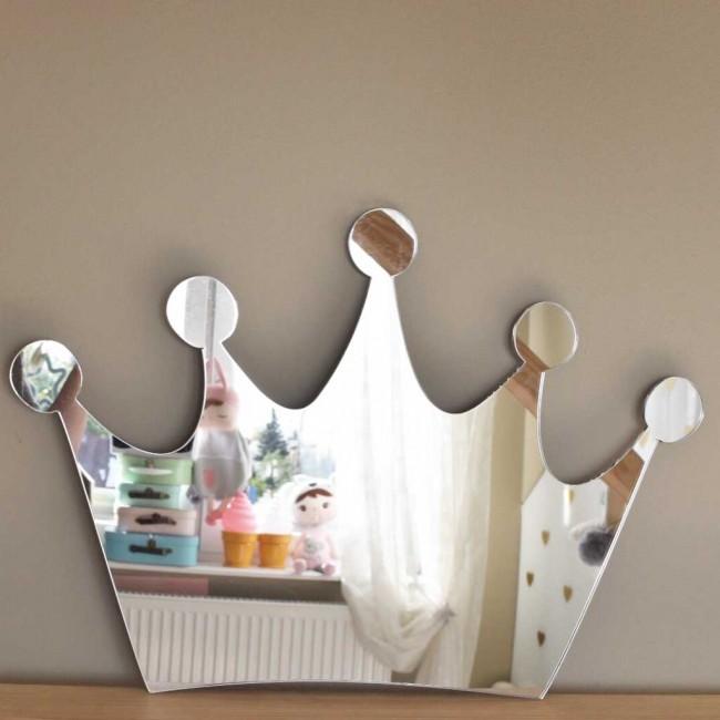 Specchio cameretta corona principessa  EcoCoccole