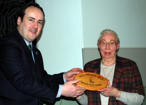 Paul Wheelhouse MSP and Nan Buchan