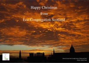 Eco-Congregation Scotland Christmas Card 2014
