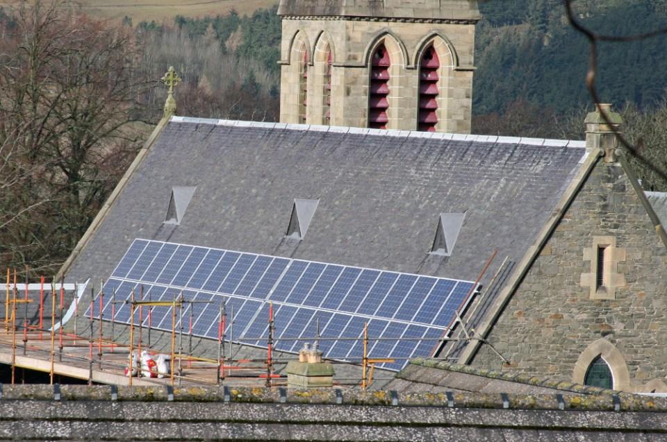 Selkirk solar panels