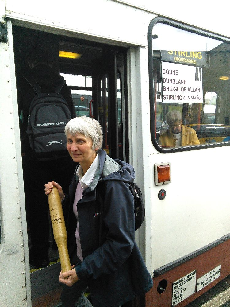 Baton on Bus to Calllander