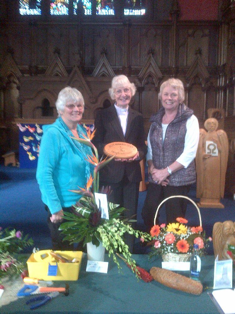 151018 St Mary's Kirkintilloch 2nd award presentation
