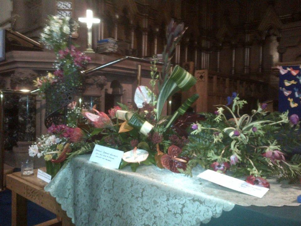 151018 St Mary's Kirkintilloch Harvest display 1