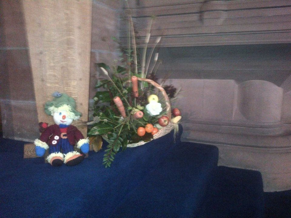 151018 St Mary's Kirkintilloch Harvest display 2