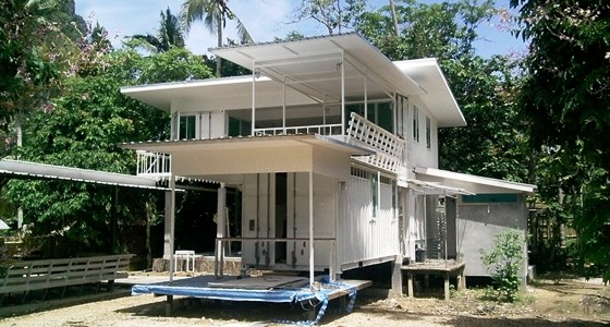 A Shipping Container Home in Krabi, Thailand