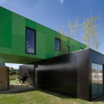 CROSSBOX BY CGARCHITECTES – SHIPPING CONTAINER HOME
