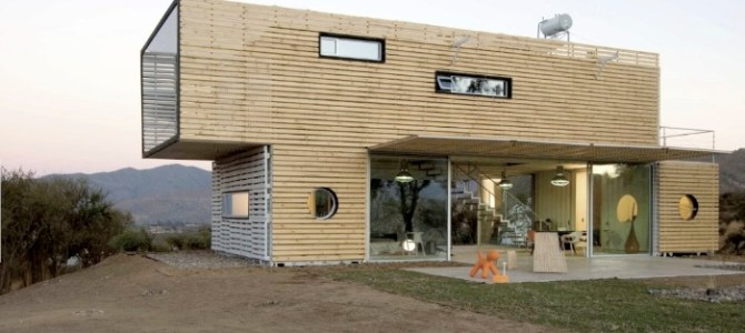 Manifesto House – A Container Home by James & Mau, for Infiniski