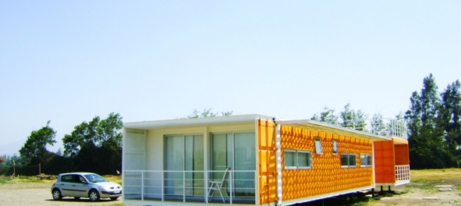 Liray House – A Shipping Container Home By Proyecto ARQtainer, Santiago, Chile