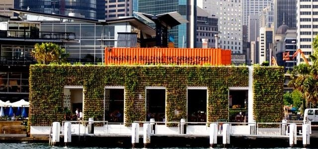 Greenhouse By Joost – A PopUp Shipping Container Restaurant in Sydney