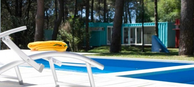 Alterra Pinamar – The Beach Resort Built With Shipping Containers, Argentina.