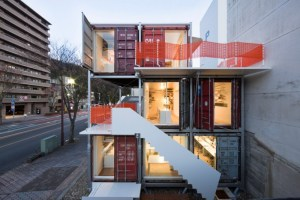 Daiken Met Architects Shipping Container Office