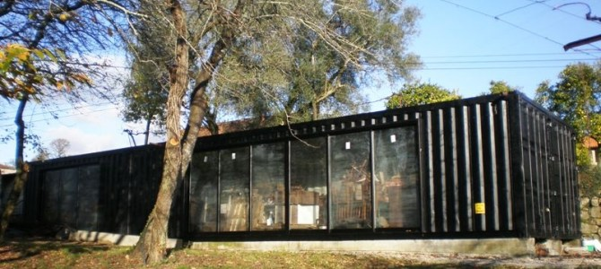 A Country Estate's Recycled Shipping Container Multi Purpose Facility – Guimarães, Portugal