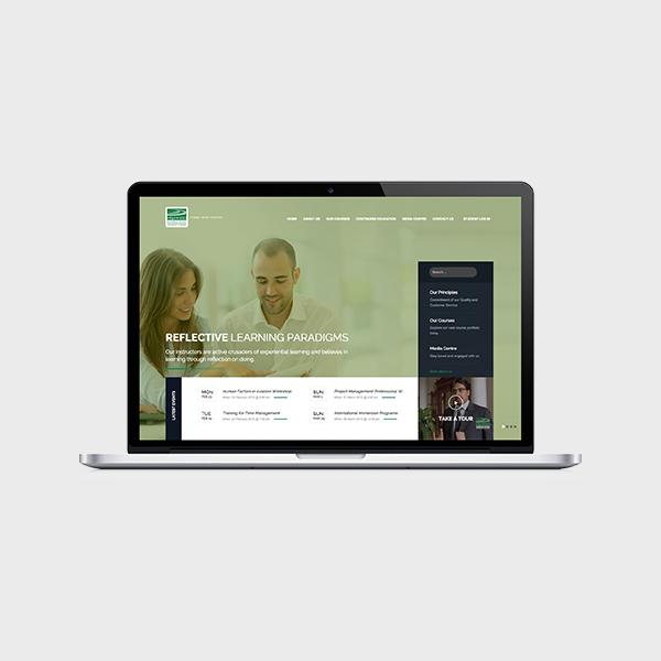 WEBSITE FOR TRAINING INSTITUTTE