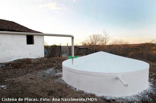 cisterna de cimento