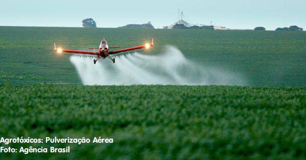 agrotóxidos: pulverização aérea