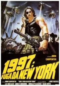 1997 - Fuga da New York - locandina