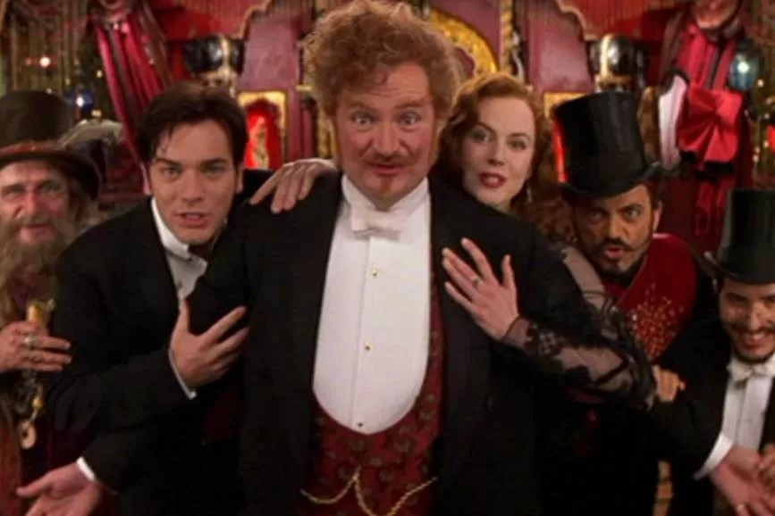 Moulin Rouge scena