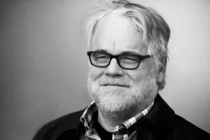 Philip Seymour Hoffman occhiali