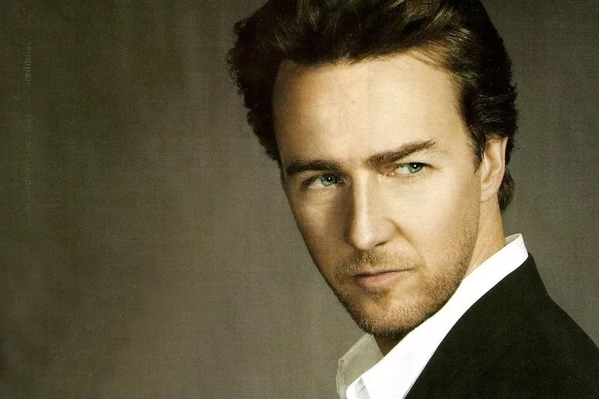 Edward Norton photoshoot