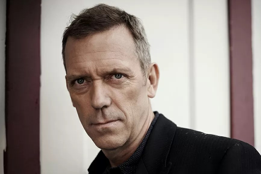 Hugh Laurie primo piano