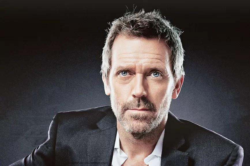 Hugh Laurie sfondo nero