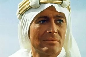 Peter O'Toole in Lawrence d'Arabia