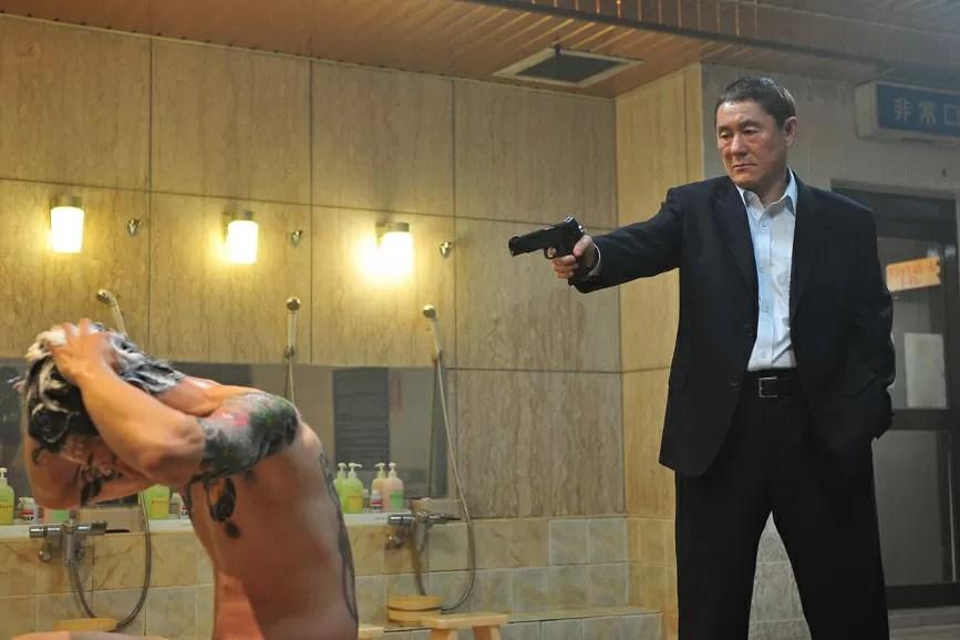 Takeshi Kitano Pistola