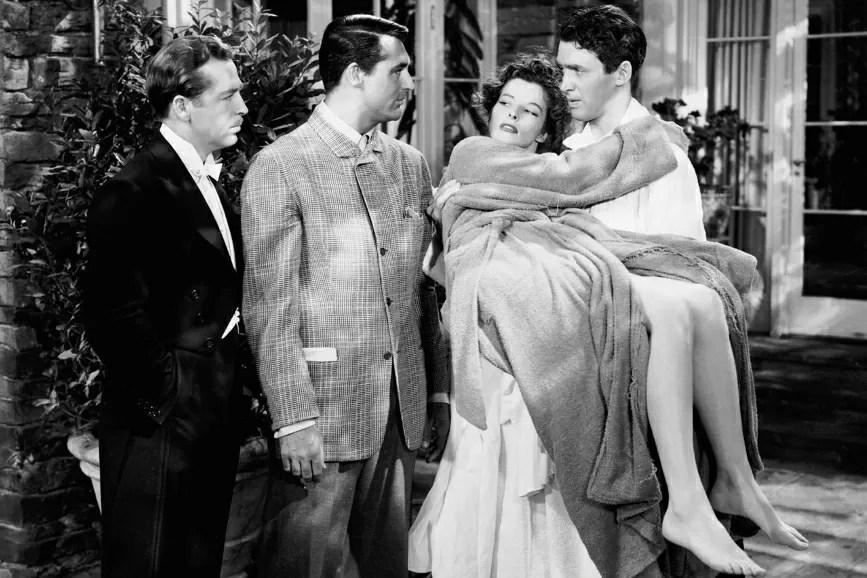George Cukor Scandalo a Filadelfia una scena del film