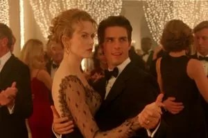 Tom Cruise e Nicole Kidman in Eyes Wide Shut