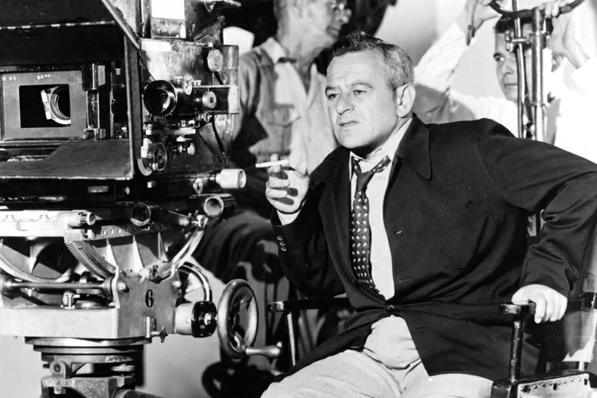 William Wyler sul set