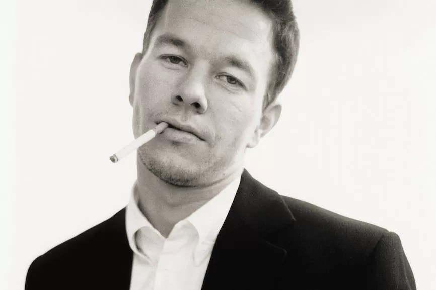 Mark Wahlberg bianco e nero