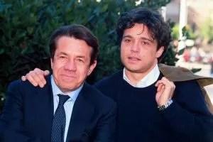 Ferruccio Amendola e Claudio Amendola