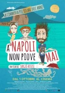 A Napoli non piove mai poster