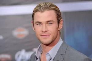 Chris Hemsworth red carpet