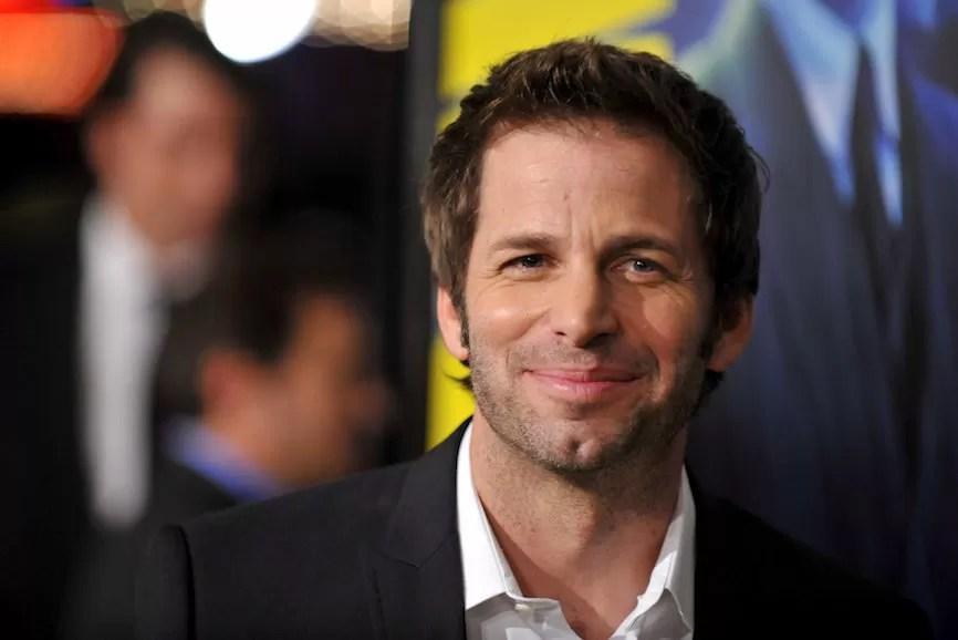 Zack Snyder sorriso