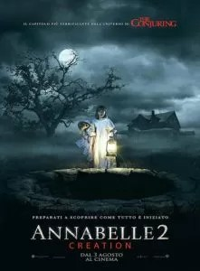Annabelle 2 poster definitivo