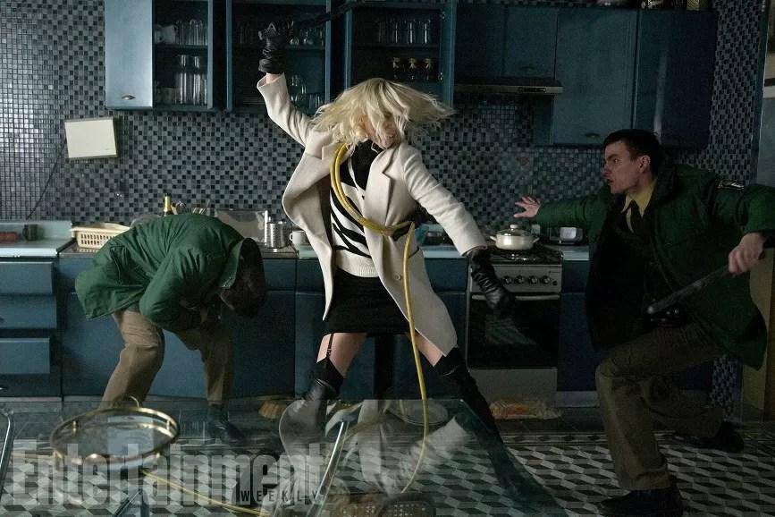 Netflix Scena film Atomica Bionda