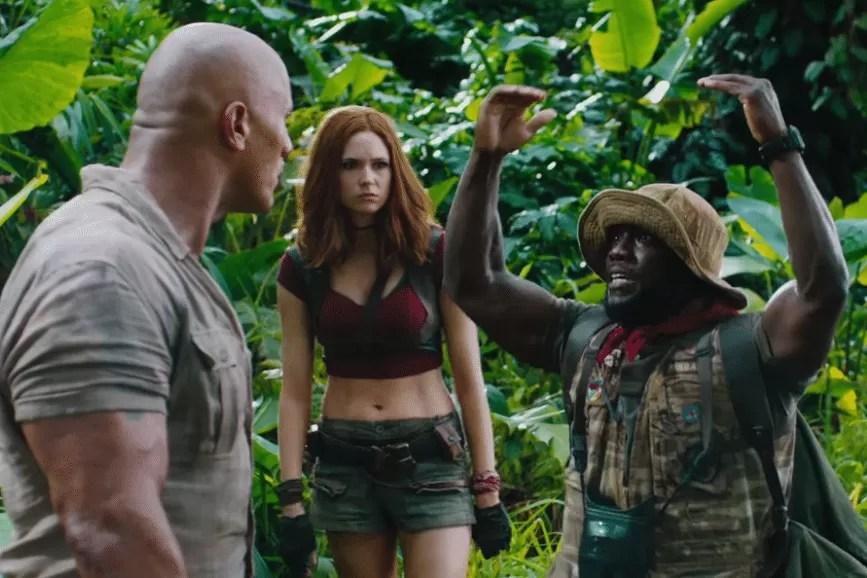 Box Office USA Jumanji 3