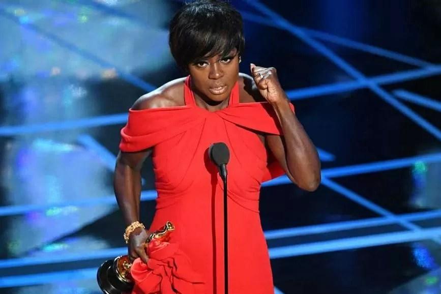 Viola Davis premiazione