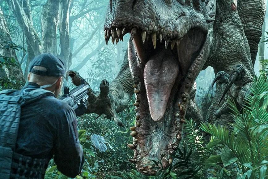 Jurassic World: Il regno distrutto al primo posto