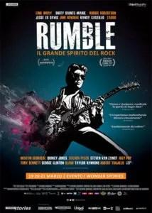 Rumble - Il grande spirito del rock - locandina