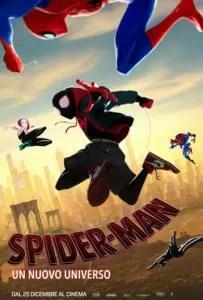 spider man un nuovo universo locandina