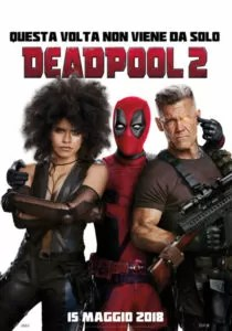 Deadpool 2 - Locandina italiana