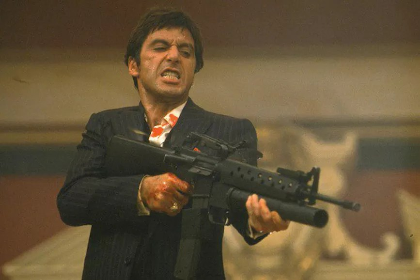 Scarface scena film