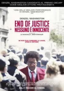 End Of Justice – Nessuno è innocente - Locandina