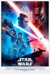 Star Wars: l'ascesa di Skywalker poster ita