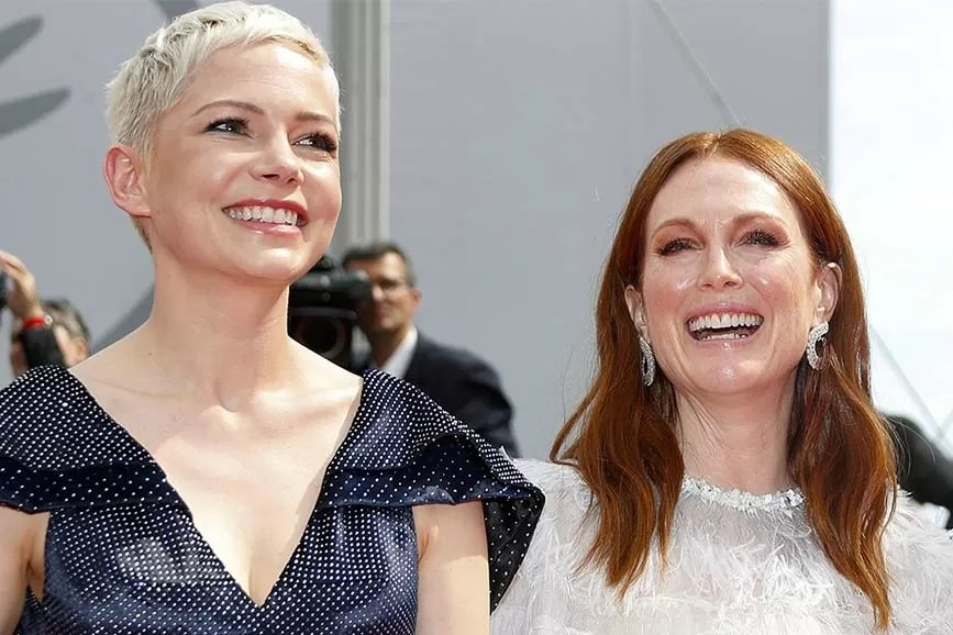 Michelle Williams e Julianne Moore