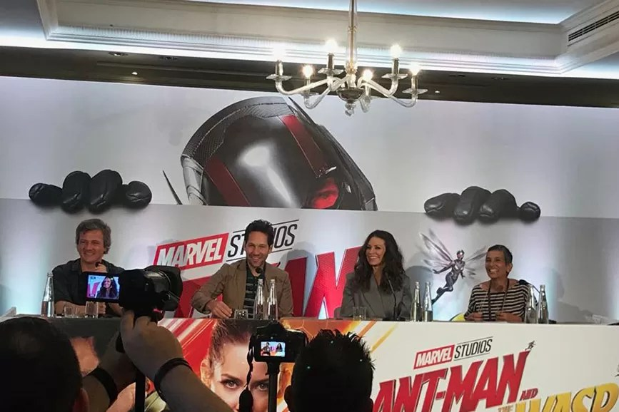 Ant-Man and the Wasp conferenza