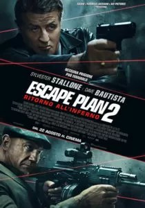 Escape Plane 2 - Inferno locandina ita