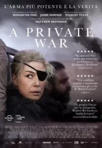 a private war locandina